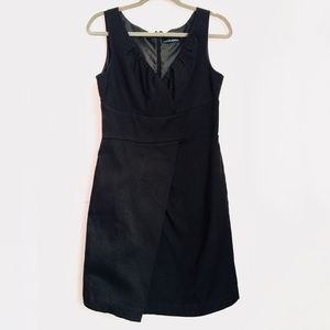 Cynthia Rowley V Neck Textured Sheath Dress